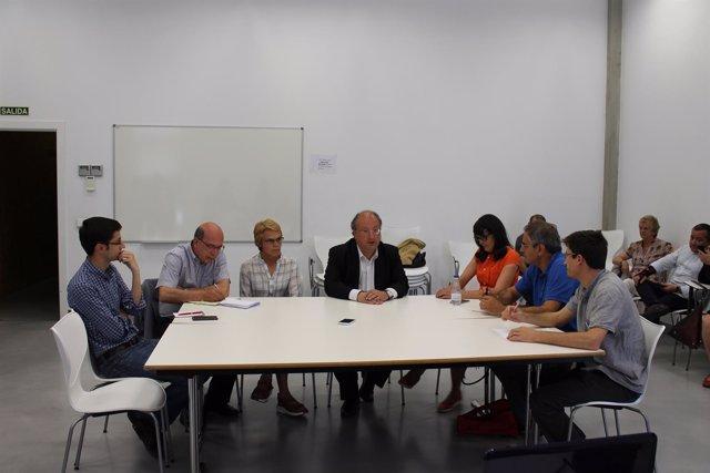 Reunión De Ganemos Y PSOE Salamanca Para Analizar Posibles Acuerdos.