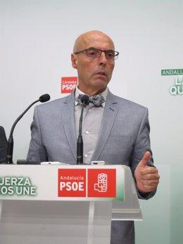 El diputado nacional del PSOE, Antonio Hurtado