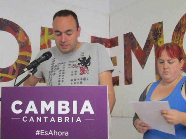 Podemos Cantabria presenta sus condiciones para negociar