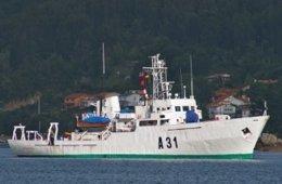 Buque 'Malaspina' de la Armada