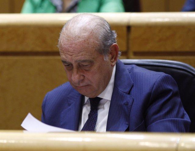 Jorge Fernández Díaz en el Senado