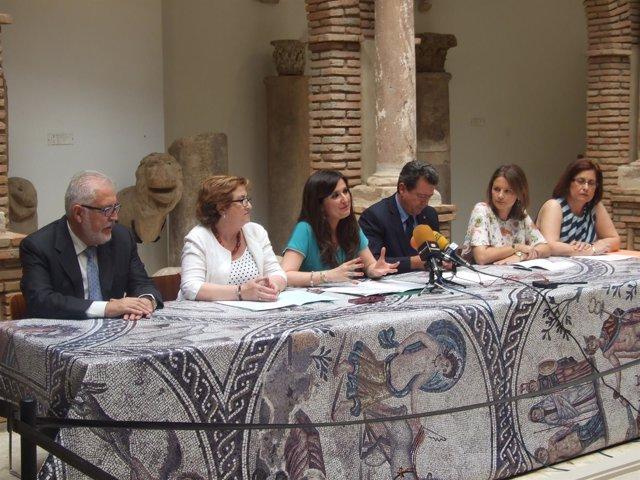 Presentación del I Campo Internacional 'Cástulo: Puerto de Encuentro'.