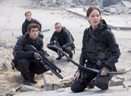 Jennifer Lawrence lanza la primera imagen de Los juegos del hambre: Sinsajo 2