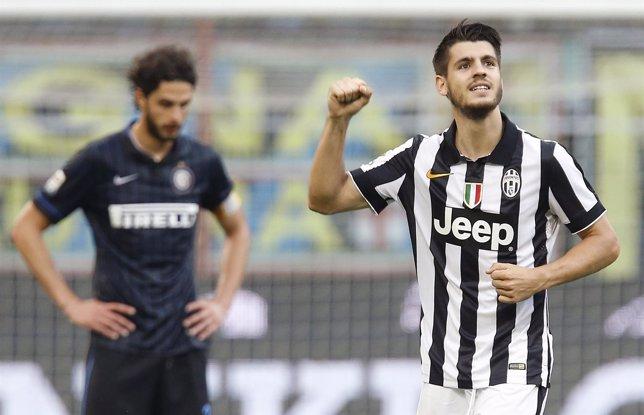 Morata vuelve a ser protagonista para la 'Juve'