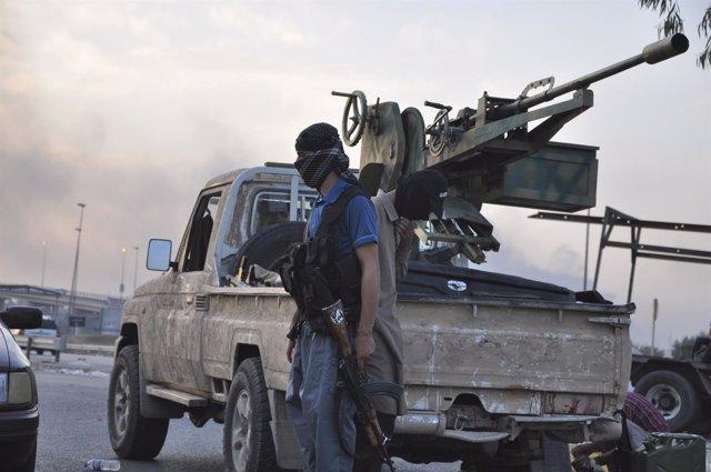 Fuerzas del Isis en Irak