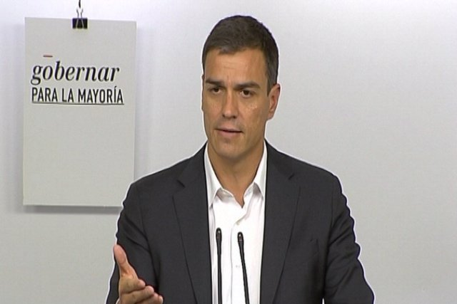 Sánchez cree que Rivera está pensando apoyar a Gabilondo
