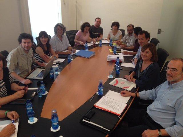 Reunión Pacto de izquierdas Baleares