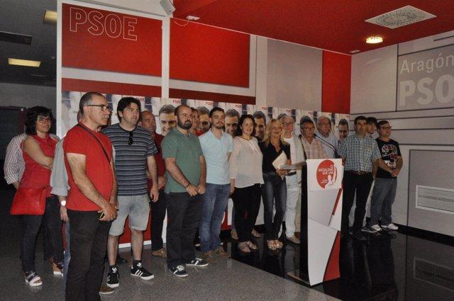 Presentación de la Plataforma de Apoyo a Pedro Sánchez