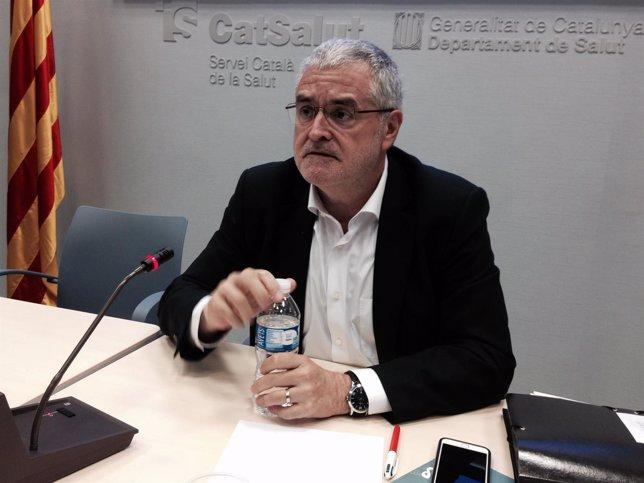 El secretario de Salud Pública, Antoni Mateu