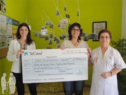La Obra Social 'la Caixa' dona 2.994 euros a una residencia de Miajadas