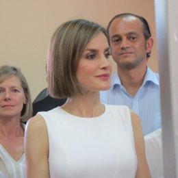 La Reina Letizia, durante su viaje a Honduras y El Salvador