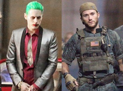 Suicide Squad: Jared Leto (el Joker) atemoriza a Scott Eastwood