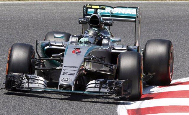 Nico Rosberg en el Gran Premio de España 2015