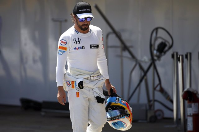 McLaren Fernando Alonso Gran Premio España