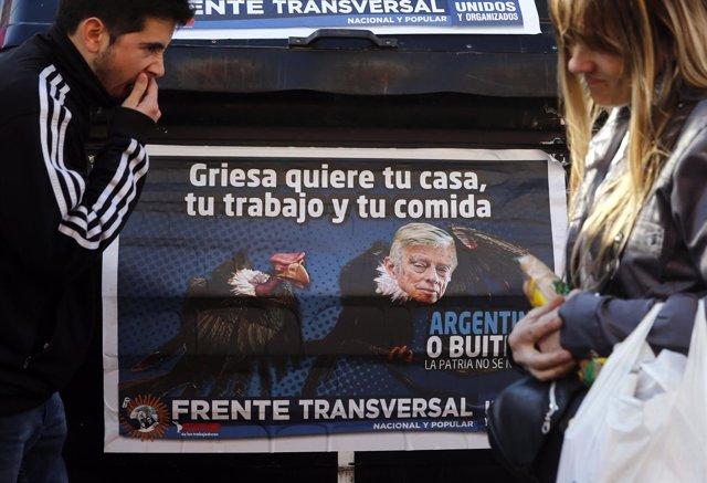 Fondos buitre, juez Thomas Griesa