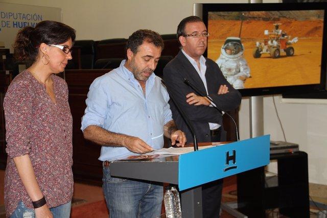 Presentan un evento para promocionar los paisajes lunares de la Cuenca Minera.
