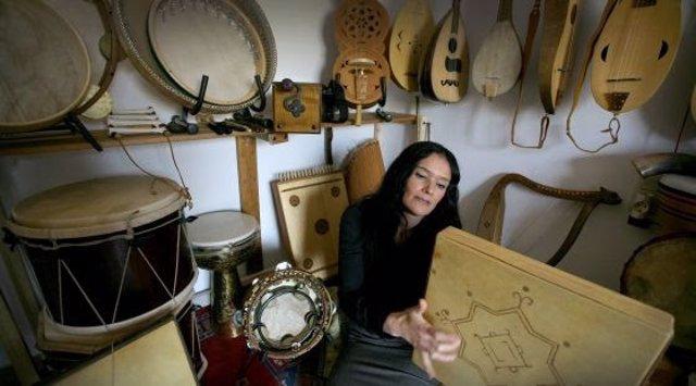 La intérprete de música sefardita Mara Aranda.