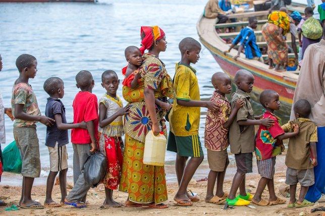 Refugiados burundeses en Tanzania