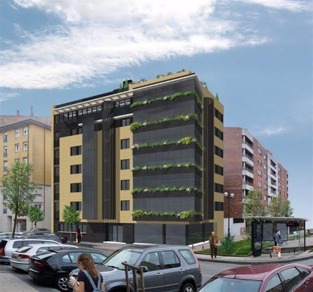 Infografía del nuevo edificio en la calle Alta de Santander