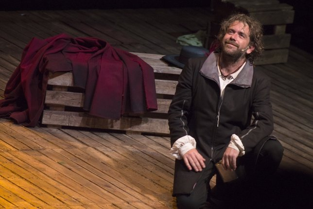 David Gutiérrez interpreta a Cyrano