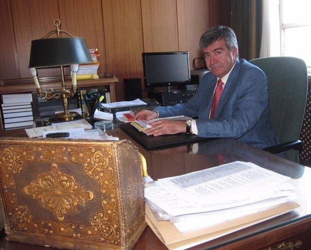 El fiscal jefe, Juan Calvo-Rubio