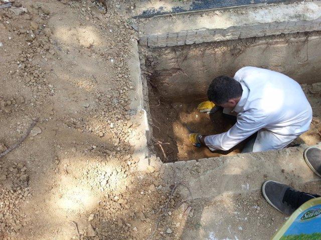 Exhumaciones en Huelva