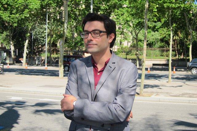 El periodista y autor Jordi Nopca
