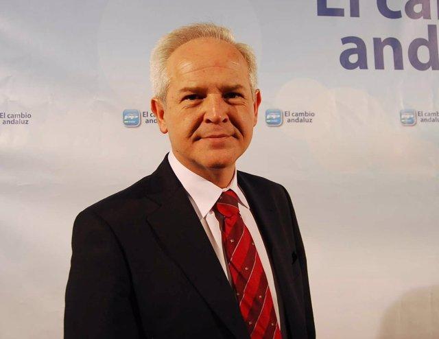 El parlamentario del PP andaluz José Antonio Miranda