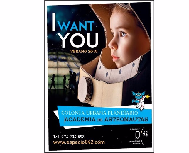 Espacio 0.42 pone en marcha  la colonia urbana 'Academia de Astronautas'