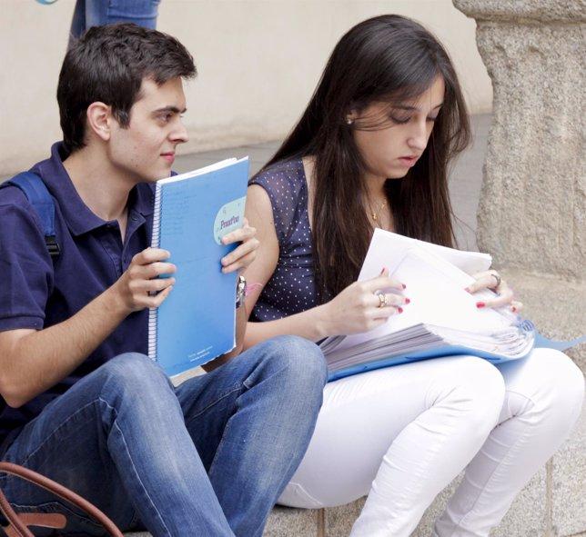 Selectividad, PAEG, exámenes, estudiantes, alumnos, universidad