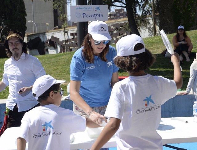Día del Voluntariado de 'la Caixa'.