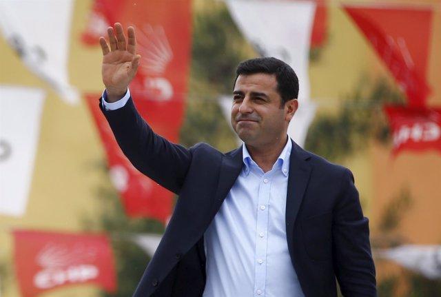 Selahattin Demirtas, colíder del PDP (kurdo)