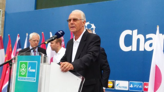 Franz Beckenbauer en Berlín