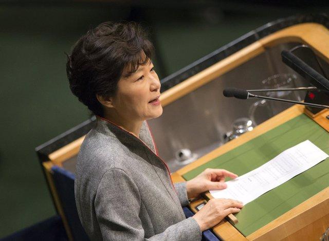 Park Geun-hye presidenta de corea del sur
