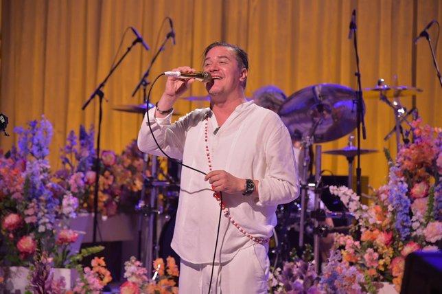 Mike Patton, de Faith No More, en el programa de Jimmy Fallon