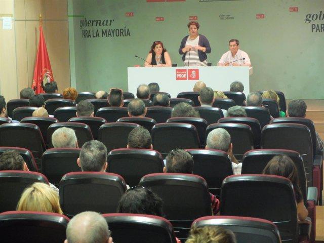 Reunión del PSOE de Granada