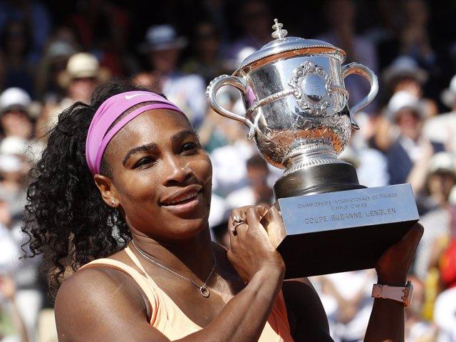 Serena Williams gana Roland Garros por tercera vez