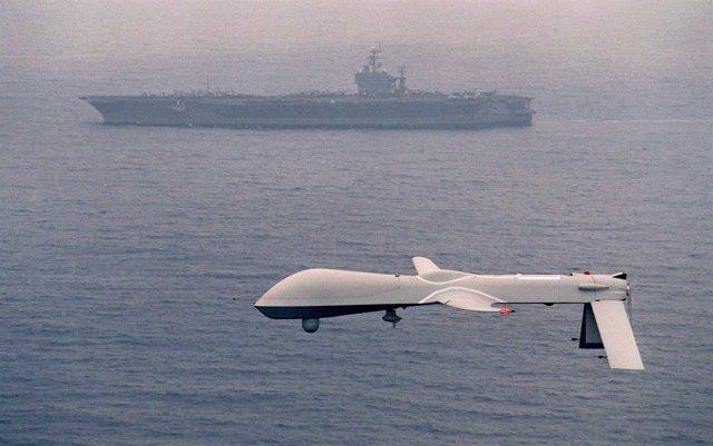 Avión no tripulado Predator de Estados Unidos