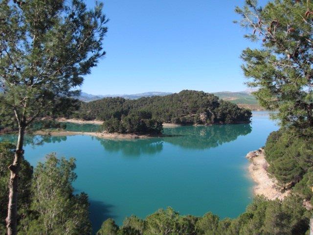 Pantano del Guadalhorce, en Málaga