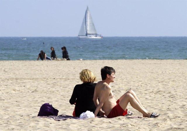 Buen tiempo, sol, playa, temperaturas