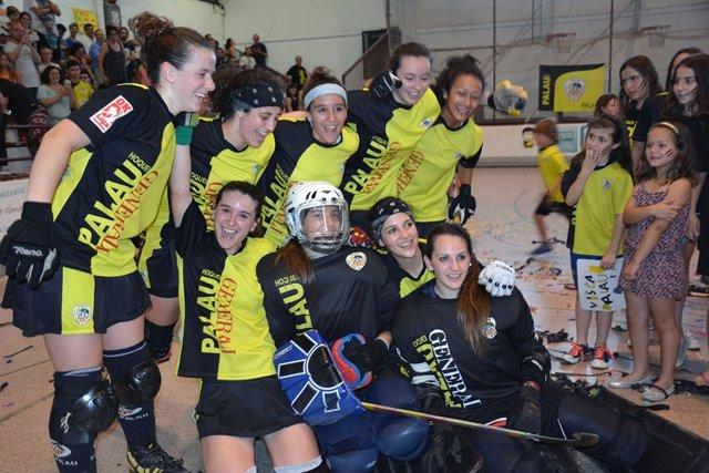 El Generali Palau de Plegamans se proclama campeón de la OK Liga Femenina