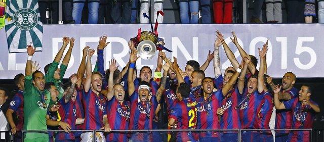 FC Barcelona, campeón de la Liga de Campeones