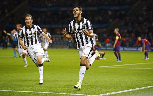 Álvaro Morata se alza con el 'Pichichi' nacional de la 'Champions'