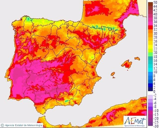 Calor en Extremadura 7/06/2015