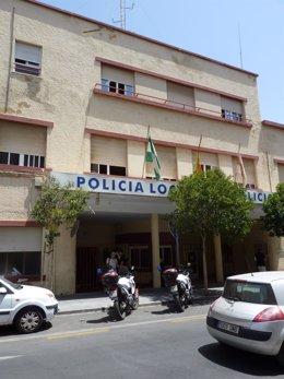 Antiguo cuartel de la Policía Local de Almería