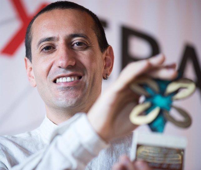 El escritor Héctor Cajaraville, ganador del Premio Xerais de Novela