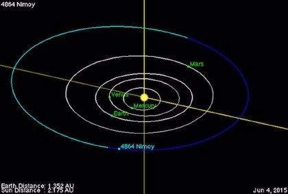 Nombran un asteroide en honor a Leonard 'Spock' Nimoy