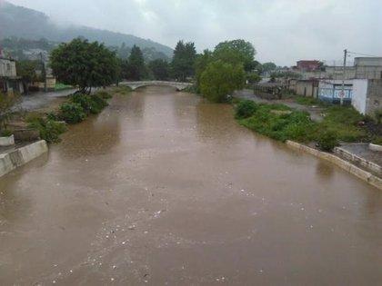 Fuertes lluvias en Guatemala dejan más de 8.000 personas damnificadas