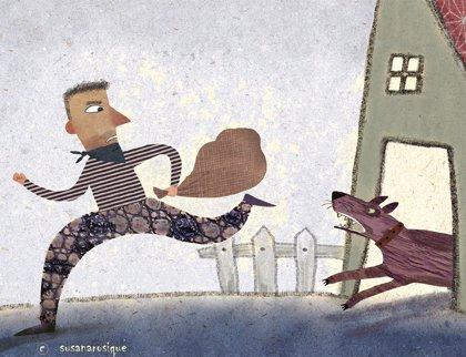 El ladrón y el perro. Fábulas para niños