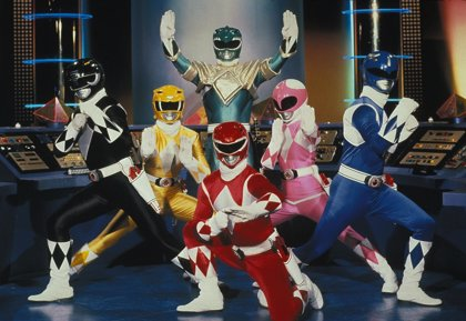 Así serán los nuevos Power Rangers